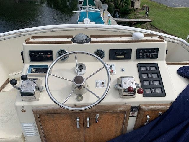 1978 Chris Craft boat for sale, model of the boat is 41 & Image # 9 of 33