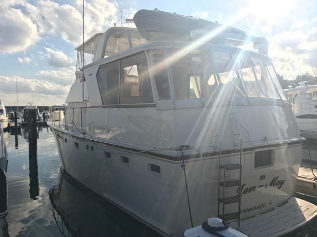 1983 Hatteras boat for sale, model of the boat is 48MY & Image # 35 of 71