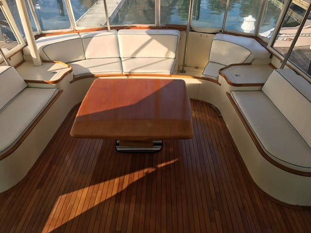 1983 Hatteras boat for sale, model of the boat is 48MY & Image # 47 of 71
