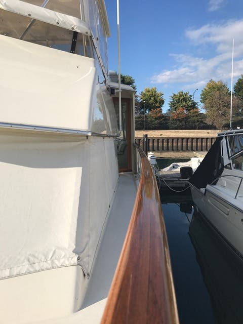 1983 Hatteras boat for sale, model of the boat is 48MY & Image # 49 of 71