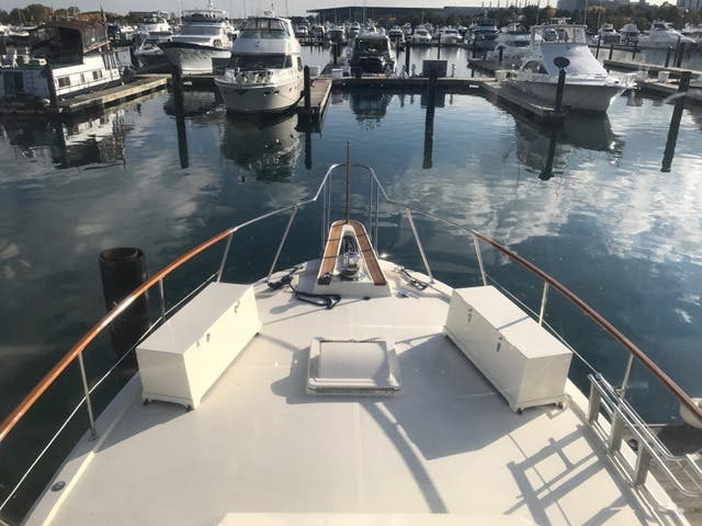 1983 Hatteras boat for sale, model of the boat is 48MY & Image # 50 of 71