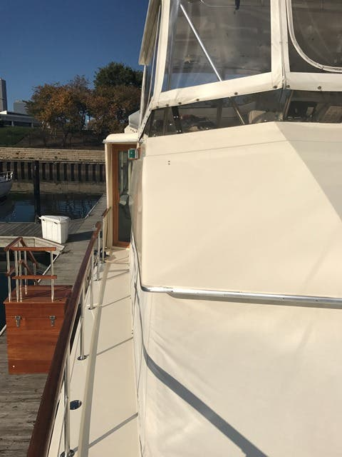 1983 Hatteras boat for sale, model of the boat is 48MY & Image # 51 of 71