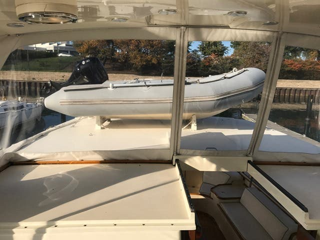 1983 Hatteras boat for sale, model of the boat is 48MY & Image # 70 of 71