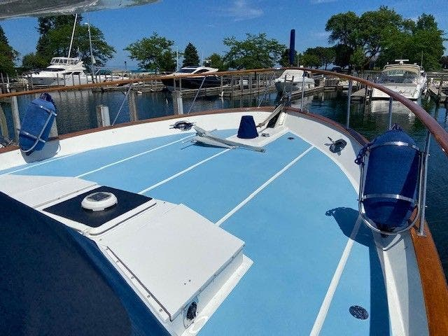 1986 Defever boat for sale, model of the boat is 48 TRAWLER & Image # 3 of 61