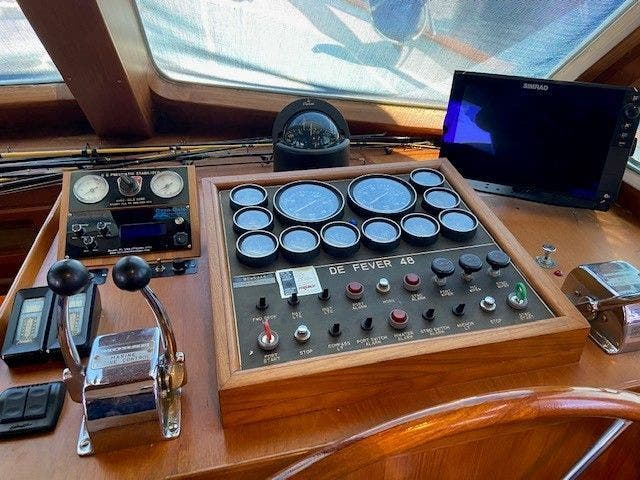 1986 Defever boat for sale, model of the boat is 48 TRAWLER & Image # 23 of 61