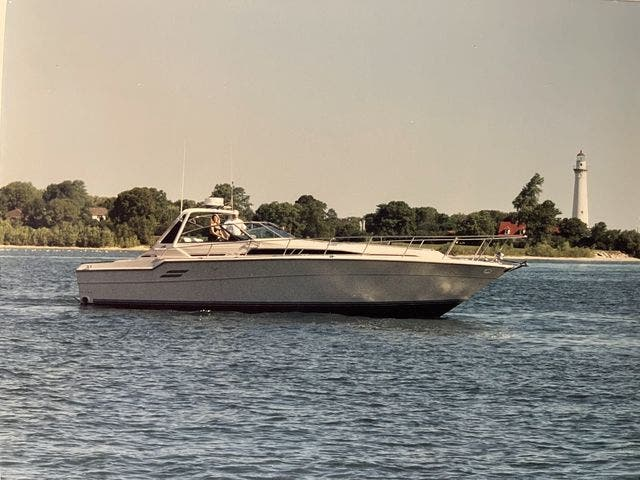 1988 Sea Ray boat for sale, model of the boat is 460EC & Image # 3 of 51