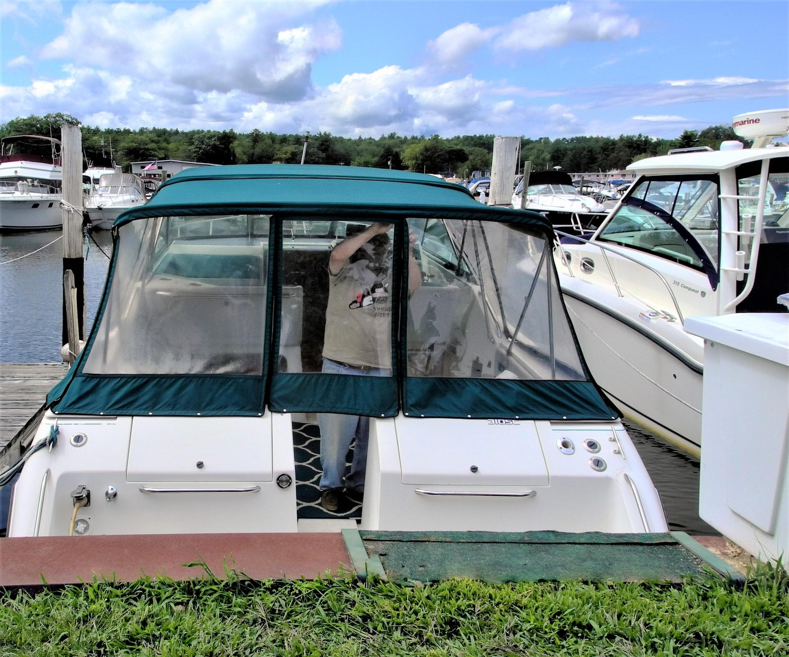 1988 Slickcraft boat for sale, model of the boat is 310sc & Image # 7 of 8