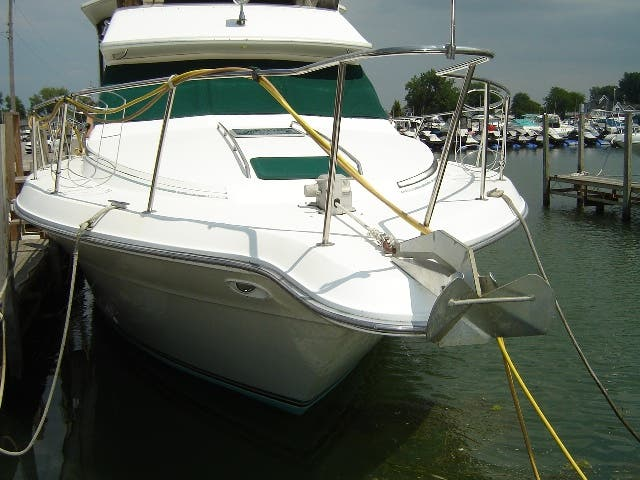 1989 Sea Ray boat for sale, model of the boat is 380AC & Image # 3 of 37