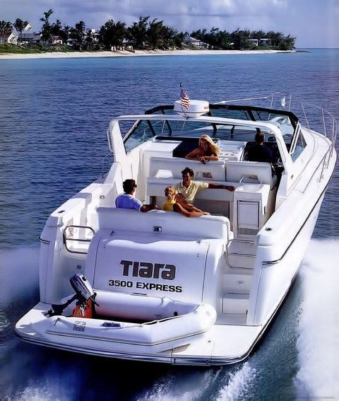 1996 Tiara Yachts boat for sale, model of the boat is 3500 EXPRESS & Image # 6 of 23