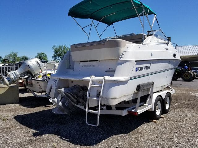 1997 Four Winns boat for sale, model of the boat is 258 VISTA & Image # 27 of 29