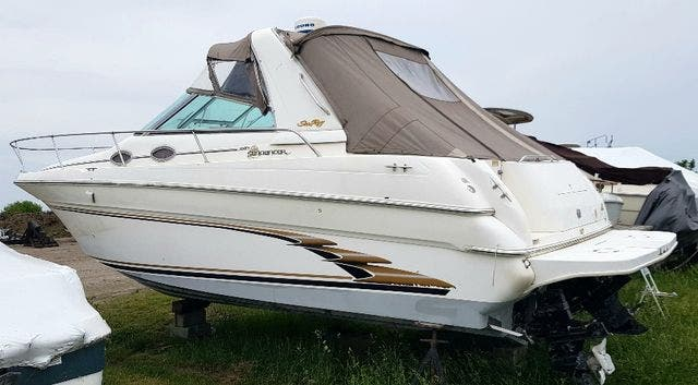 1997 Sea Ray boat for sale, model of the boat is 290 SUNDANCER & Image # 4 of 17