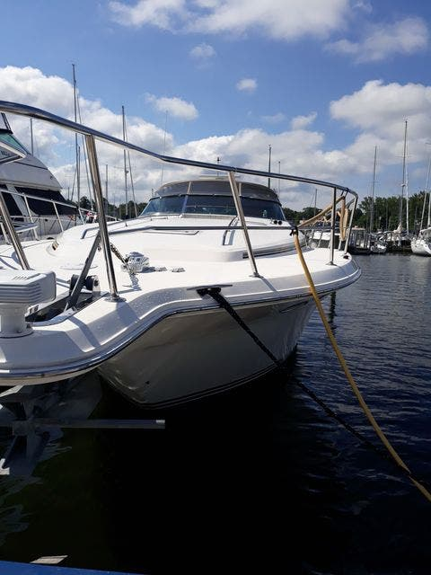 1997 Sea Ray boat for sale, model of the boat is 50' SUNDANCER & Image # 4 of 67
