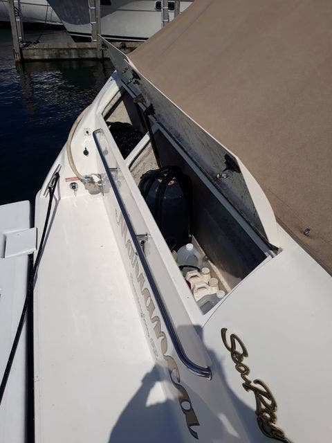 1997 Sea Ray boat for sale, model of the boat is 50' SUNDANCER & Image # 56 of 67