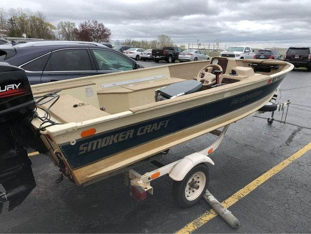 1997 Smoker Craft boat for sale, model of the boat is 15 RESORTER & Image # 3 of 14