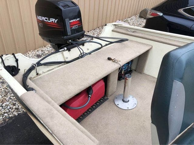 1997 Smoker Craft boat for sale, model of the boat is 15 RESORTER & Image # 6 of 14