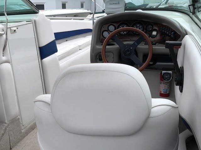 1998 Crownline boat for sale, model of the boat is 266 BR & Image # 4 of 5