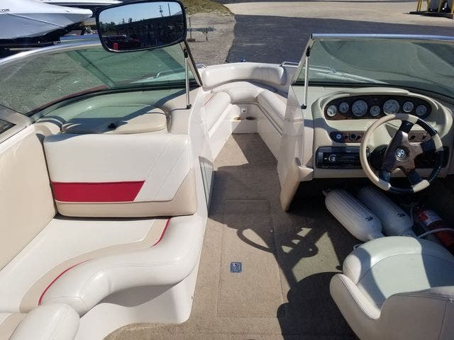 1998 Mastercraft boat for sale, model of the boat is 225VRS & Image # 20 of 36