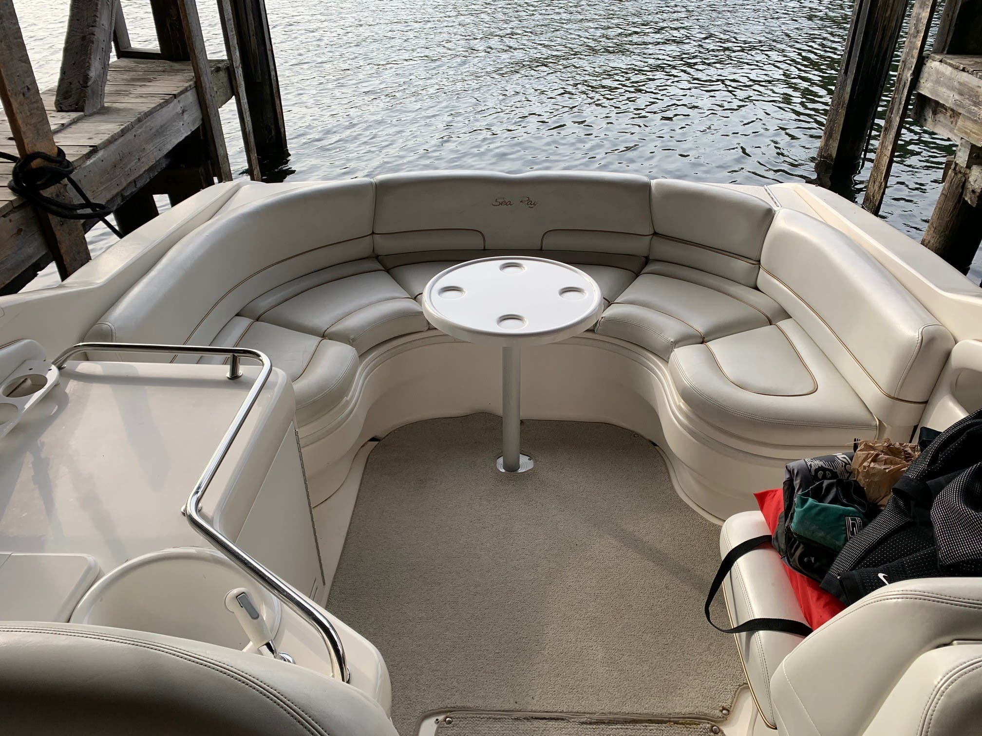 1998 Sea Ray boat for sale, model of the boat is 280 Sunsport & Image # 5 of 11