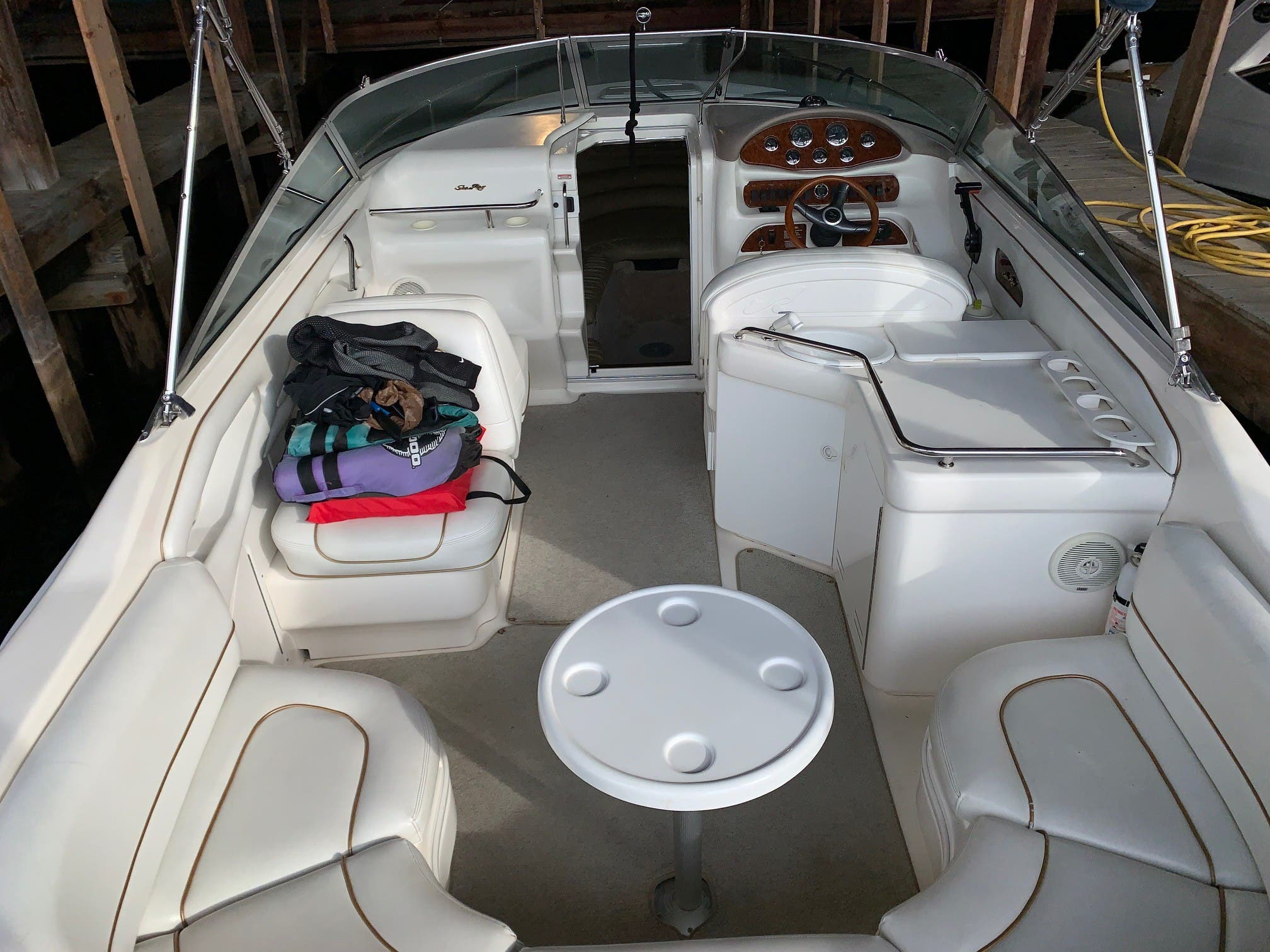 1998 Sea Ray boat for sale, model of the boat is 280 Sunsport & Image # 4 of 11