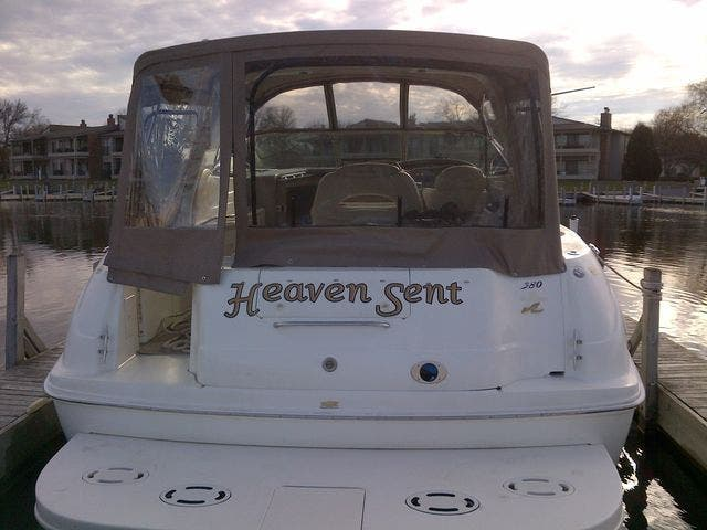 1999 Sea Ray boat for sale, model of the boat is 380 SUNDANCER & Image # 5 of 40