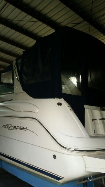 2000 Monterey boat for sale, model of the boat is 322 Cruiser & Image # 11 of 20