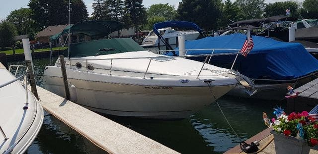 2000 Sea Ray boat for sale, model of the boat is 270 SUNDANCER & Image # 3 of 16
