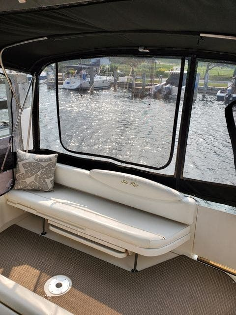 2000 Sea Ray boat for sale, model of the boat is 340DA & Image # 12 of 46