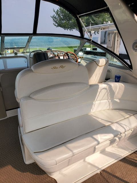 2000 Sea Ray boat for sale, model of the boat is 340DA & Image # 19 of 46