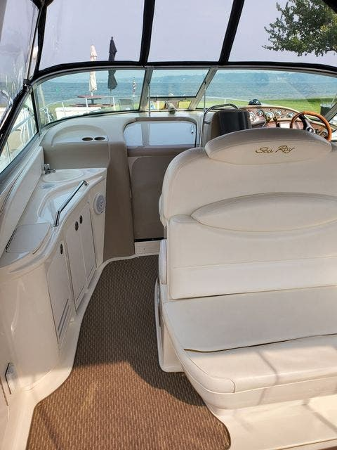 2000 Sea Ray boat for sale, model of the boat is 340DA & Image # 20 of 46