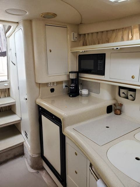 2000 Sea Ray boat for sale, model of the boat is 340DA & Image # 28 of 46