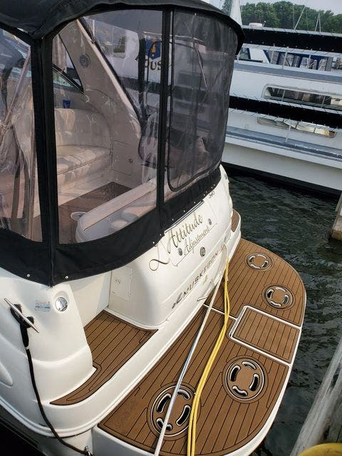 2000 Sea Ray boat for sale, model of the boat is 340DA & Image # 44 of 46