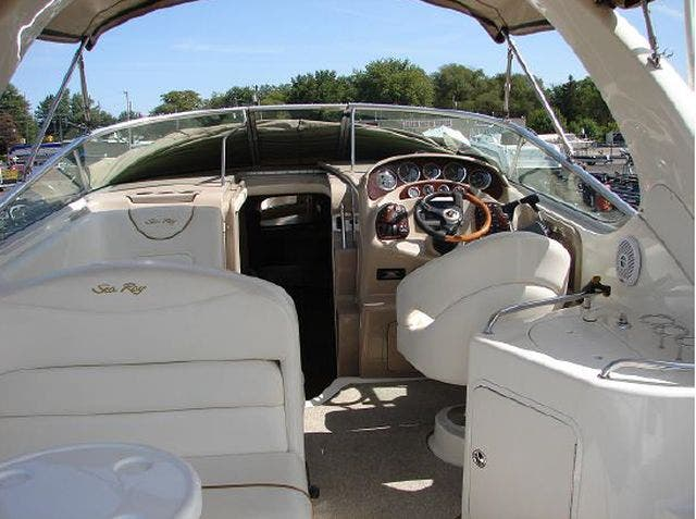 2001 Sea Ray boat for sale, model of the boat is 280 SUNDANCER & Image # 6 of 14