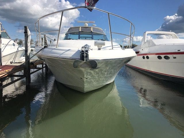 2001 Sea Ray boat for sale, model of the boat is 410EC & Image # 5 of 58