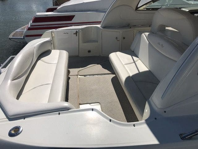2001 Sea Ray boat for sale, model of the boat is 410EC & Image # 12 of 58