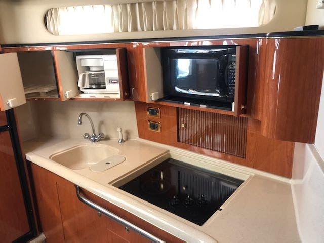 2001 Sea Ray boat for sale, model of the boat is 410EC & Image # 28 of 58