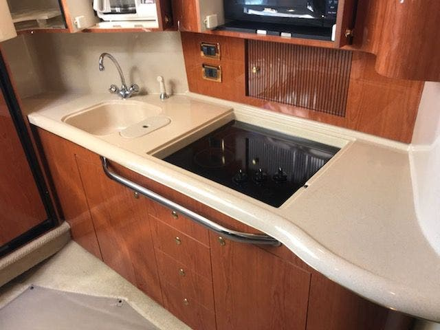 2001 Sea Ray boat for sale, model of the boat is 410EC & Image # 29 of 58
