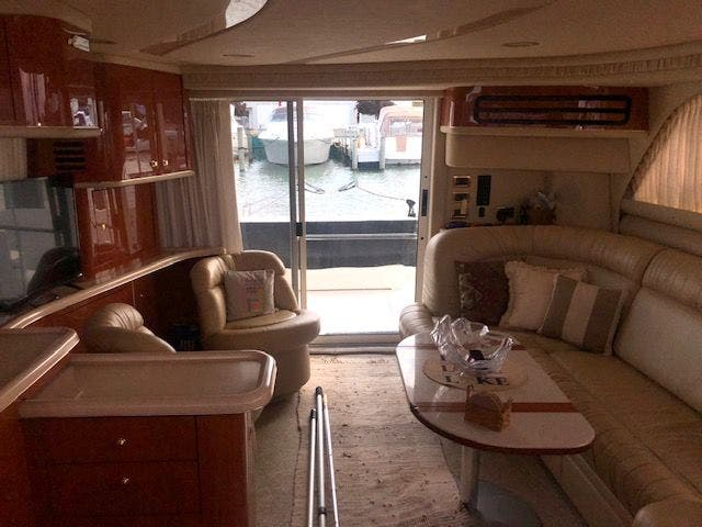 2001 Sea Ray boat for sale, model of the boat is 480SEDANBRIDGE & Image # 24 of 55