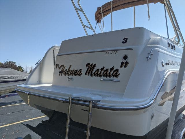 2002 Glastron boat for sale, model of the boat is 279 GS & Image # 25 of 25