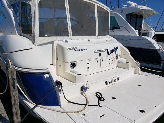 2005 Cruisers Yachts boat for sale, model of the boat is 520 EXP CRUISER & Image # 5 of 42