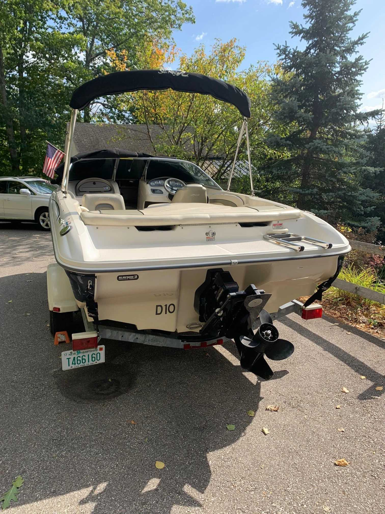 2005 Sea Ray boat for sale, model of the boat is 185 BR & Image # 5 of 7