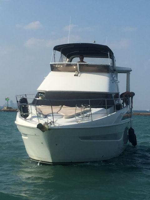 2006 Carver boat for sale, model of the boat is 43MY & Image # 3 of 35