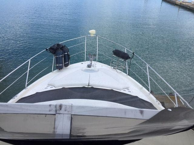 2006 Carver boat for sale, model of the boat is 43MY & Image # 6 of 35