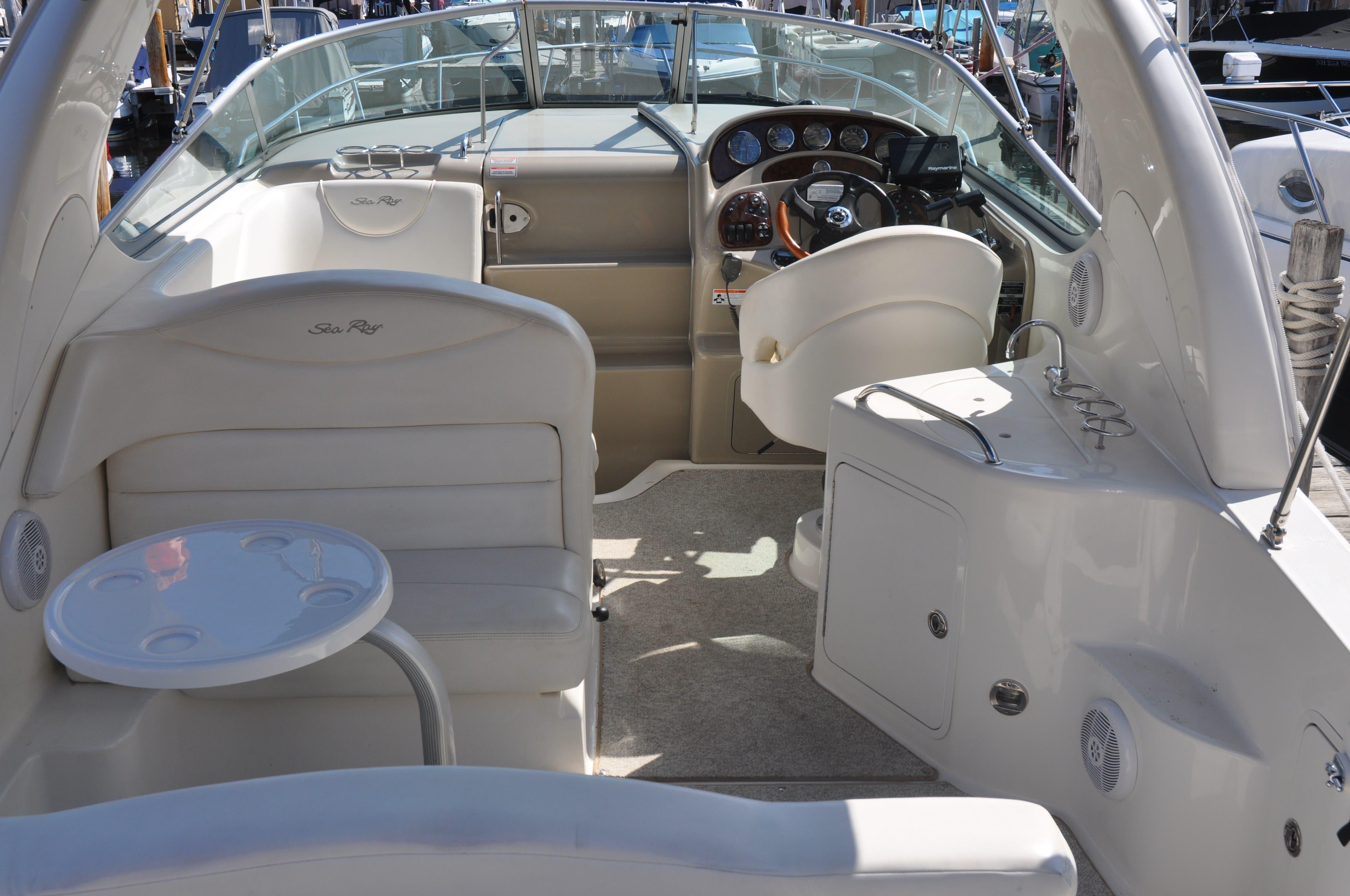 2006 Sea Ray boat for sale, model of the boat is 280 SUNDANCER & Image # 5 of 18