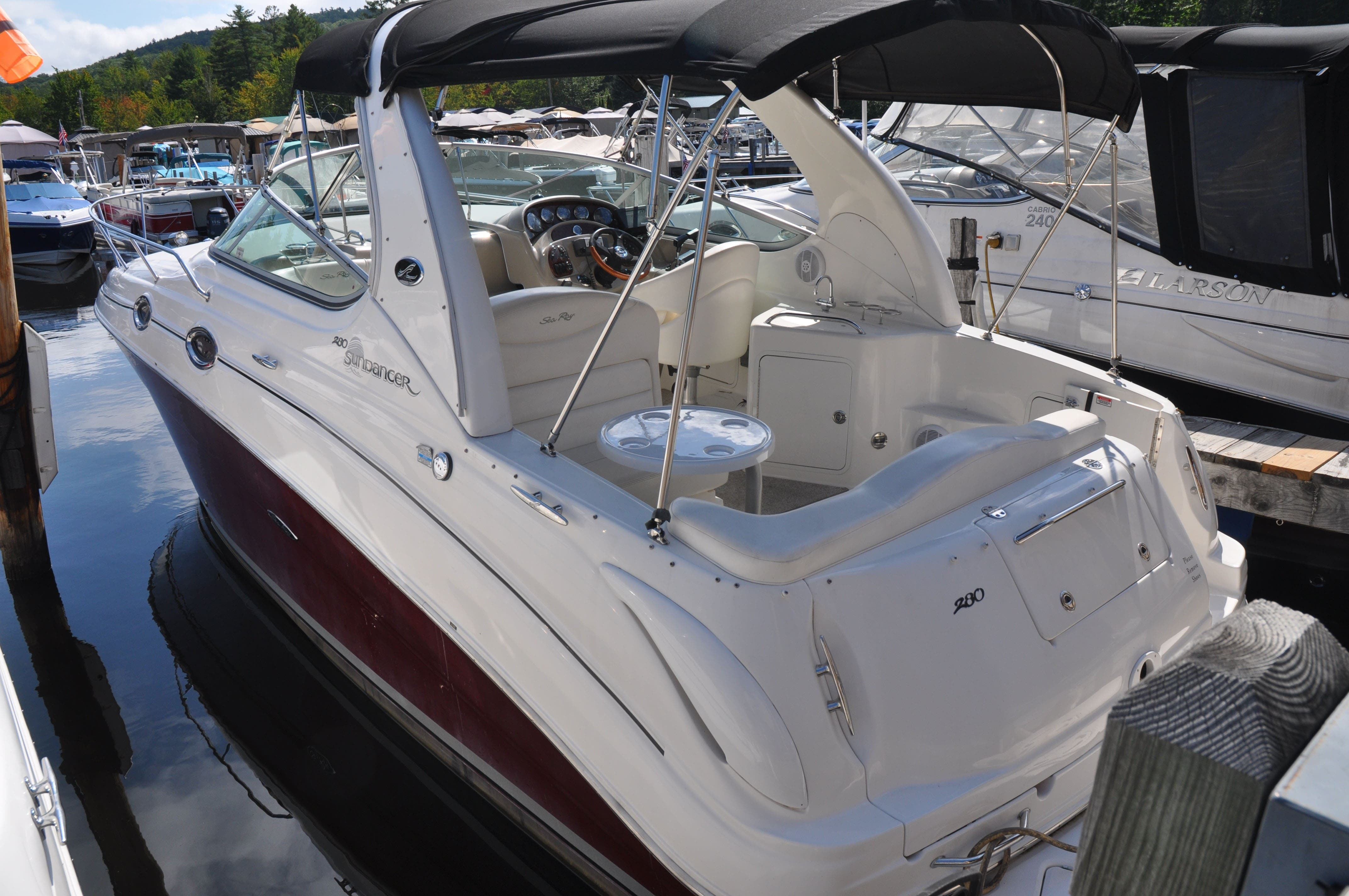2006 Sea Ray boat for sale, model of the boat is 280 SUNDANCER & Image # 4 of 18