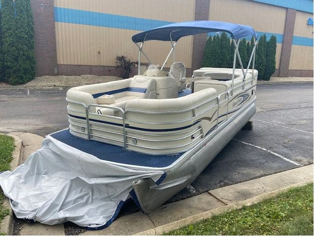 2007 Aqua-Patio boat for sale, model of the boat is 20RE & Image # 3 of 23