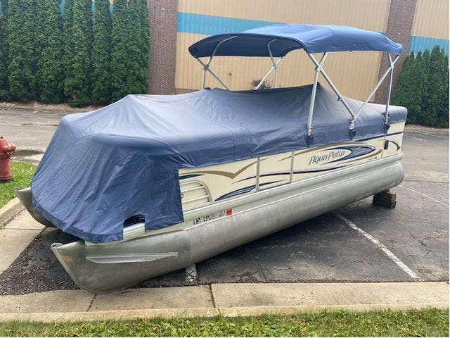 2007 Aqua-Patio boat for sale, model of the boat is 20RE & Image # 4 of 23