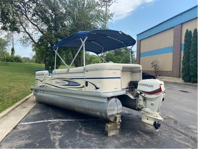 2007 Aqua-Patio boat for sale, model of the boat is 20RE & Image # 20 of 23