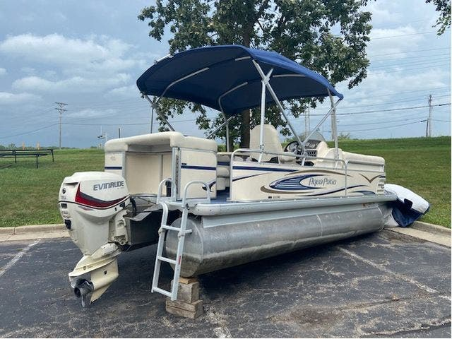 2007 Aqua-Patio boat for sale, model of the boat is 20RE & Image # 21 of 23