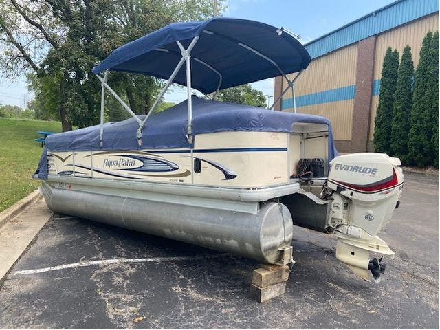 2007 Aqua-Patio boat for sale, model of the boat is 20RE & Image # 22 of 23