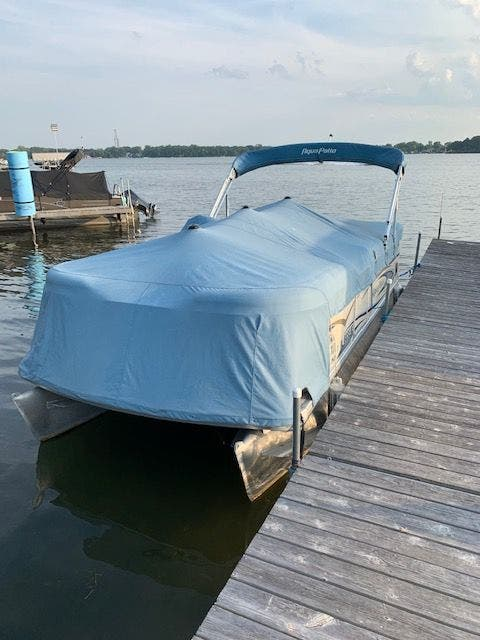 2007 Aqua Patio boat for sale, model of the boat is 180RE & Image # 3 of 34